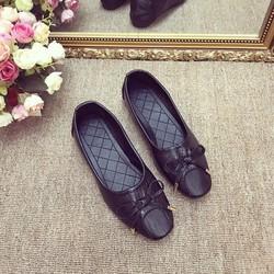 Giày Búp Bê Da Rắn