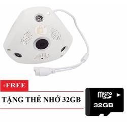 Camera IP VR CAM 360 quay mọi góc nhìn 360 độ