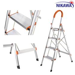 Thang nhôm ghế 4 bậc Nikawa Nhật Bản