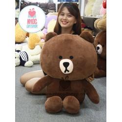 Thú bông gấu brown cao cấp quà tặng đặc biệt và ý nghĩa
