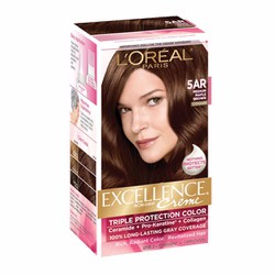 Thuốc nhuộm tóc L Oréal Excellence Creme, 5AR Medium Maple Brown