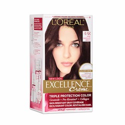 Nhuộm tóc L Oréal Excellence Creme, 4AR Dark Chocolate Brown