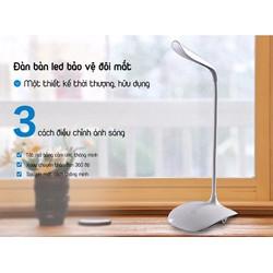 Đèn bàn học cảm ứng chống cận thị có tích điện 3 chế độ sáng
