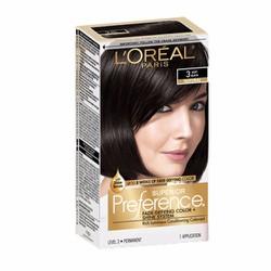 Thuốc nhuộm tóc L Oréal Superior Preference, 3 Soft Black
