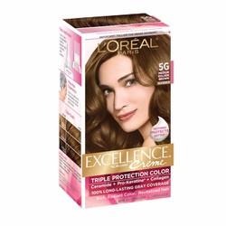 Thuốc nhuộm tóc L Oréal Excellence Creme, 5G Medium Golden Brown