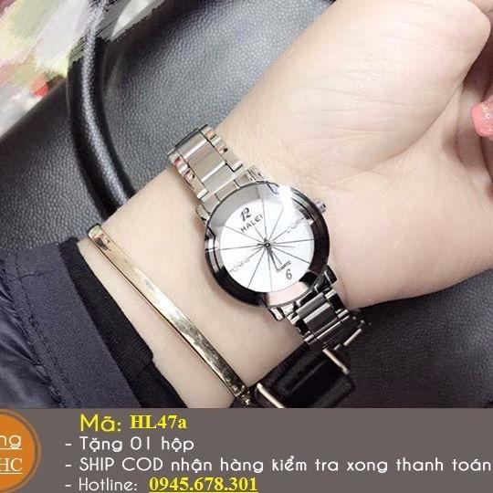 Đồng hồ đôi chính hãng HALEI chống nước 2