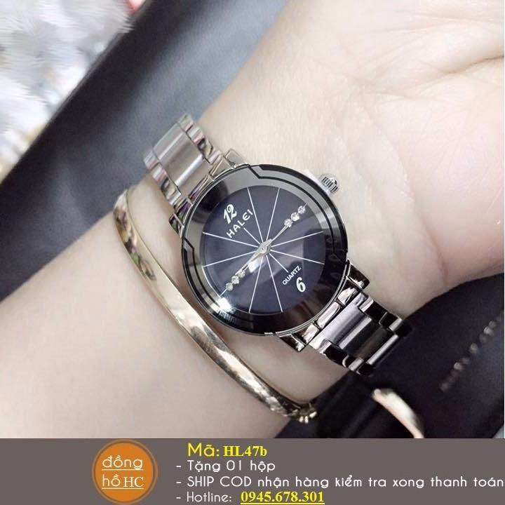 Đồng hồ đôi chính hãng HALEI chống nước 3