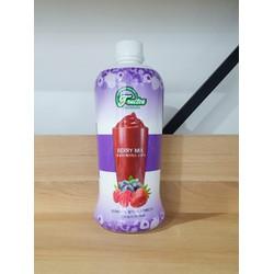 Syrup trái cây Việt Quất và Dâu tây