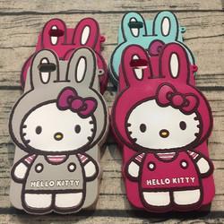 Ốp lưng Iphone 6 6s hình hello kitty. tai thỏ