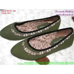 giày mọi nữ kiểu dáng sành điệu GM124