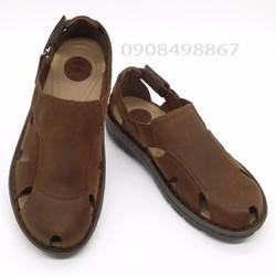 Giày Sandal   Giày Sandal Nam da bò đế EVA êm nhẹ