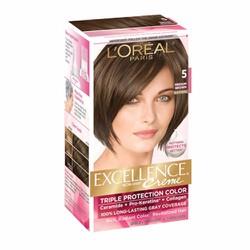 Thuốc nhuộm tóc L Oréal Excellence Creme, 5 Medium Brown