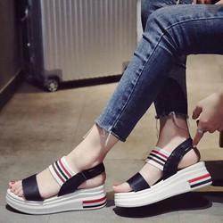 giay sandal xuồng cao câp-pll2921