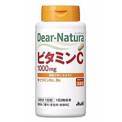 Dear Natura Viên uống bổ sung vitamin C 60 ngày 120 Viên