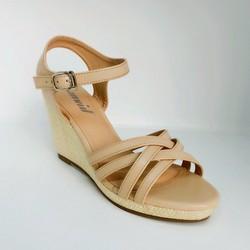 Giày sandal đế xuồng L064K - JANVID - tiện lợi, thoải mái