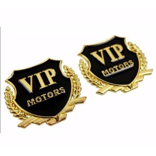 Bộ 2 Logo VIP Motors kim loại dán ô tô, xe máy - 10436783 , 7039989 , 15_7039989 , 89000 , Bo-2-Logo-VIP-Motors-kim-loai-dan-o-to-xe-may-15_7039989 , sendo.vn , Bộ 2 Logo VIP Motors kim loại dán ô tô, xe máy