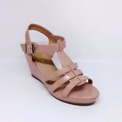 Giày sandal đế xuồng L063K - JANVID - tiện lợi, thoải mái