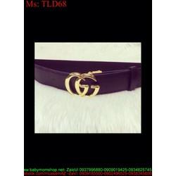 Thắt lưng nữ mang jum logo sành điệu sang trọng TLD68