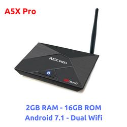Android box chính hãng A5X Pro - 2GB RAM 16GB ROM, Android 7.1