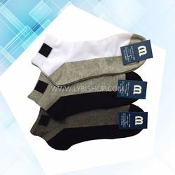 Bộ 6 đôi tất vớ ngắn cổ Nam Nhật - Hàng độc quyền phân phối - Lybishop