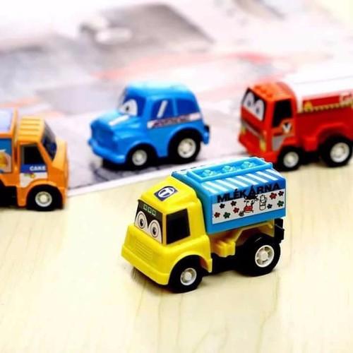 Bộ 6 ô tô mini cho bé