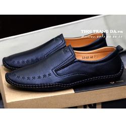 Giày lười da thật trẻ trung GL101 cung cấp bởi THỜI TRANG DA