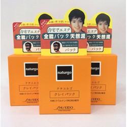 Bộ 10 Gói Mặt Nạ Bùn Lột Mụn Naturgo Shiseido