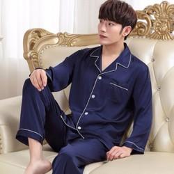 Bộ pyjama nam dài tay chất lụa -giá 420k - NG628-1