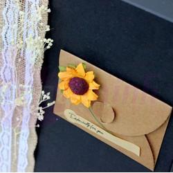 Hộp quà tặng sinh nhật hoa lavender khô đen 2