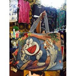 túi xách doraemon kitty pooh mickey bag909