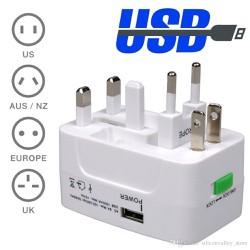 Ổ Cấm Du Lich Đa Năng Cổng USB