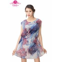 Đầm suông họa tiết hoa thời trang