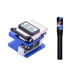 Dao cắt quang FC-6S GC và 1 bút soi quang 5km GC