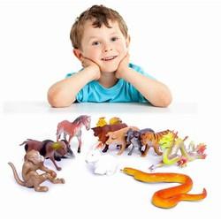 Bộ sưu tập 12 con giáp ngộ nghĩnh cho bé học đếm tuổi