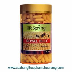 Viên Uống sữa ong chúa LifeSpring Royal Jelly 1000 mg