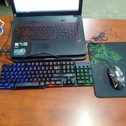 Combo phím chuột K3621 Tặng lót chuột