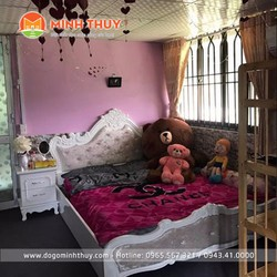 Bộ phòng ngủ tân cổ điển 4 món BN -09