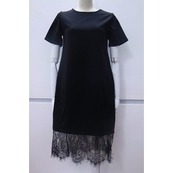 Đầm suông chân ren - D002