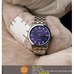 Đồng hồ nữ mặt xanh huyền bí-HL22
