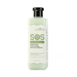 Sữa tắm SOS cho chó mèo giúp mềm mượt lông 530ml màu xanh lá, chính hãng