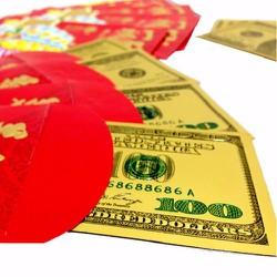COMBO 09 TỜ 2 USD HOẶC 100 USD PLASTIC MAY MẮN - LỘC ĐẦU XUÂN