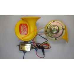 Clip test - Còi ngân, kèn ngân cho ô tô -24V