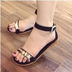 giày sandal quai ngang mảnh