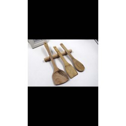 Bộ dụng cụ nấu ăn 4 món bằng gỗ