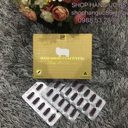 Viên uống đẹp da Nhau thai cừu Maxi Sheep Placenta 50000mg 100 viên
