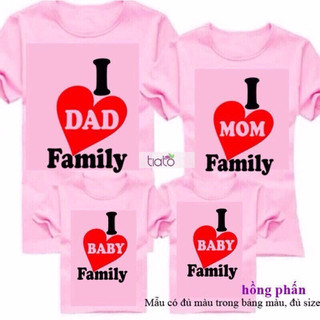 Áo gia đình 4 cái [ĐƯỢC KIỂM HÀNG] 10573867 - 10573867 thumbnail