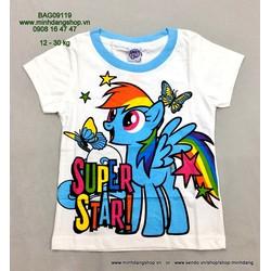 Áo thun hình Pony lấp lánh - hàng Thái lan