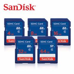 Thẻ nhớ SDHC Sandisk 32GB  Class 4