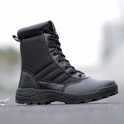 Giày cao cổ nam chất da cực bền B13