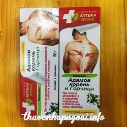 Kem Balsam Nga chữa xương khớp và thoát vị đĩa đệm cực hiệu quả